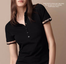 Burberry Brit Ruched Cuff Sleeve Polo