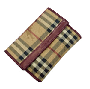Burberry Nova Check Mini Fold Wallet