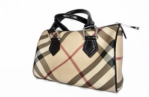 Burberry Nova Check Small Chester Bowling Bag