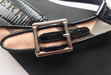Burberry Nova Check Buckle Flip-Flops