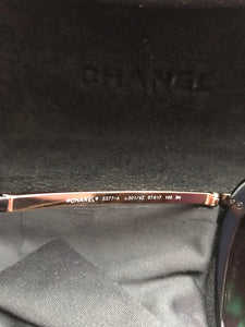 Chanel 501/4Z Sunglasses 18-Karat Gold Plated