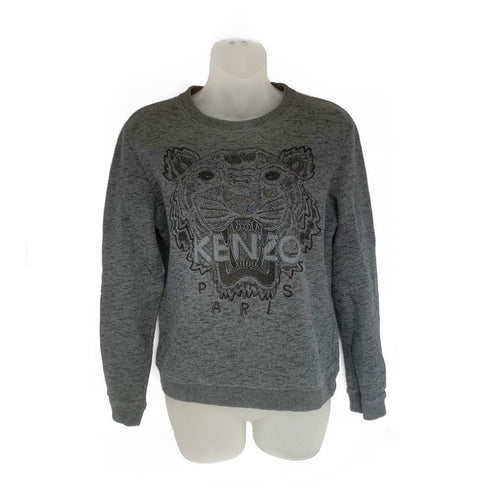 Kenzo Paris Charcoal Grey Sweatshirt