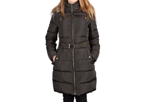 Michael Kors 3/4 Length Jacket with Faux Fur Hood