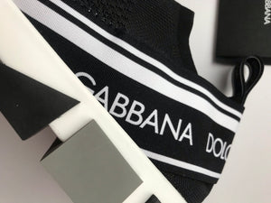 Dolce & Gabbana Sorrento Stretch Mesh Sneakers