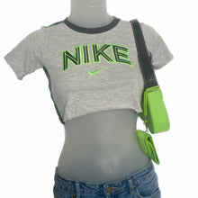 Nike Vintage Embroidered Spell-Out Crop Top