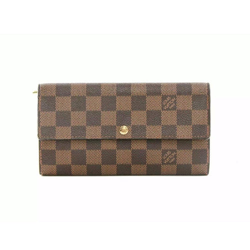 Louis Vuitton Sarah Wallet in Damier Ebene