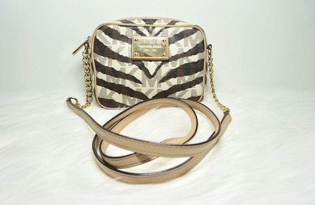 Michael Kors Tiger Print Crossbody