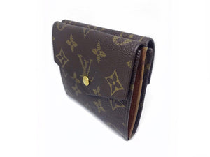 Louis Vuitton Vintage Double Snap Trifold Monogram Wallet (1992)
