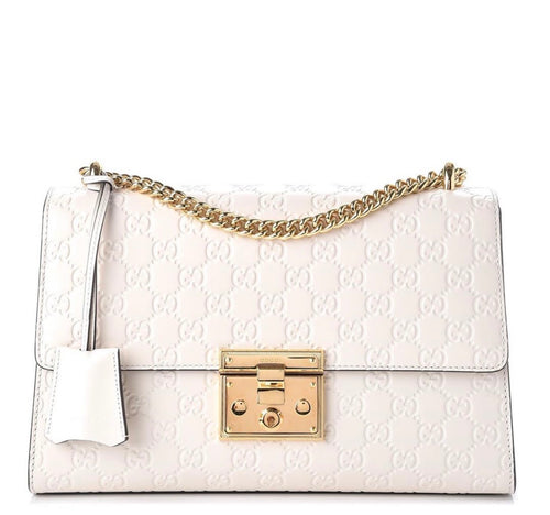 "Gucci ""Guccissima""Medium Padlock Shoulder Bag"