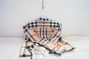 Burberry Button Down Check Shirt