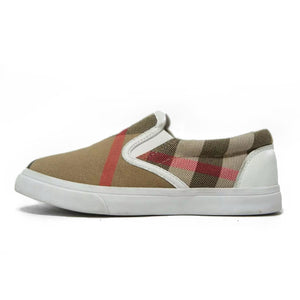 Burberry Youth Canvas Slip On Shoes 29