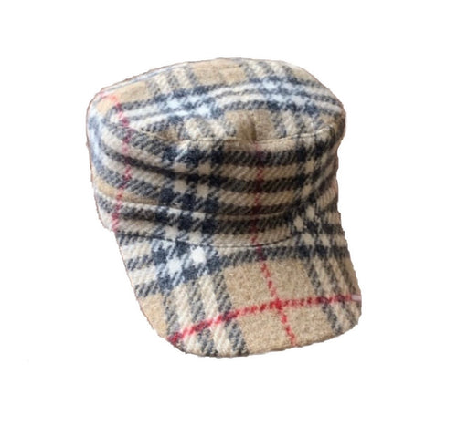 Burberry Wool Bakers Boy Hat