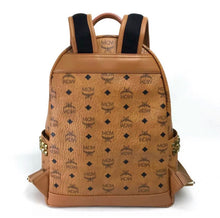 MCM Stark Side Studs Backpack in Visetos