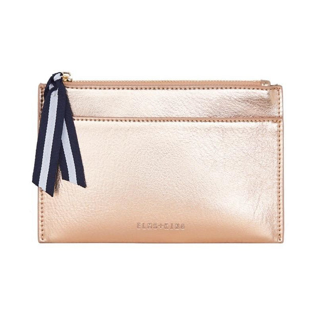 New York Coin Purse Rose Gold
