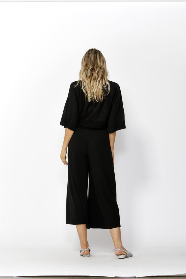 White Noise Wide Leg Pant