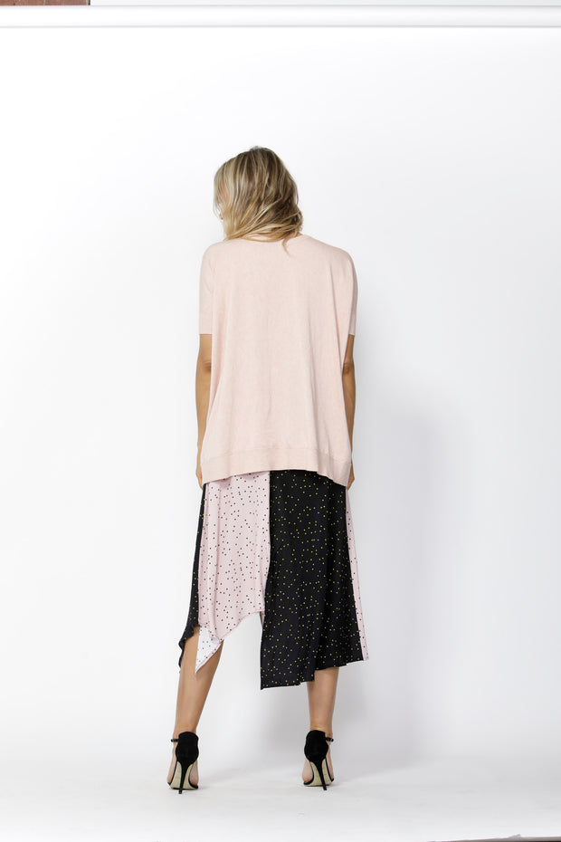 Polka Dot Print over the Moon Skirt