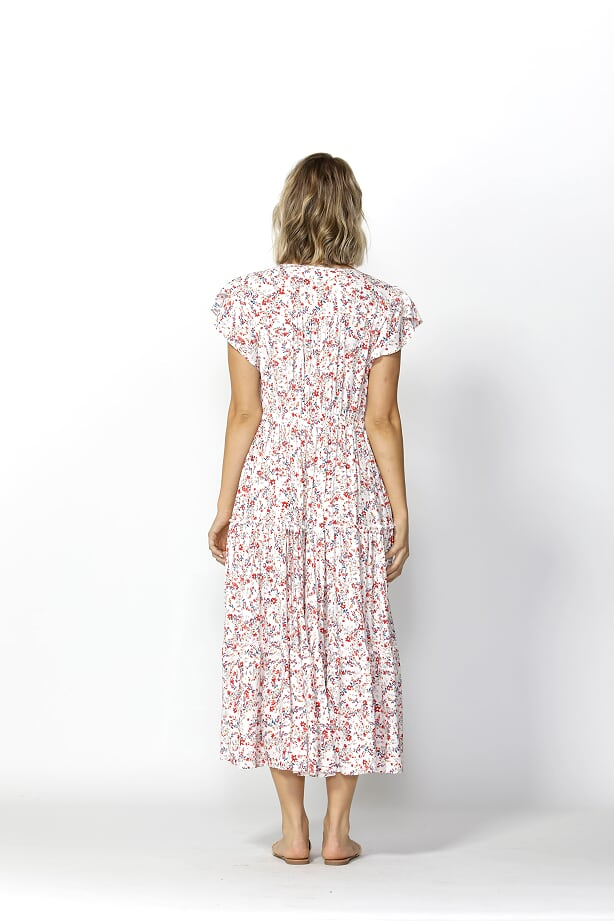 Love Game Maxi Dress Tokyo Blues