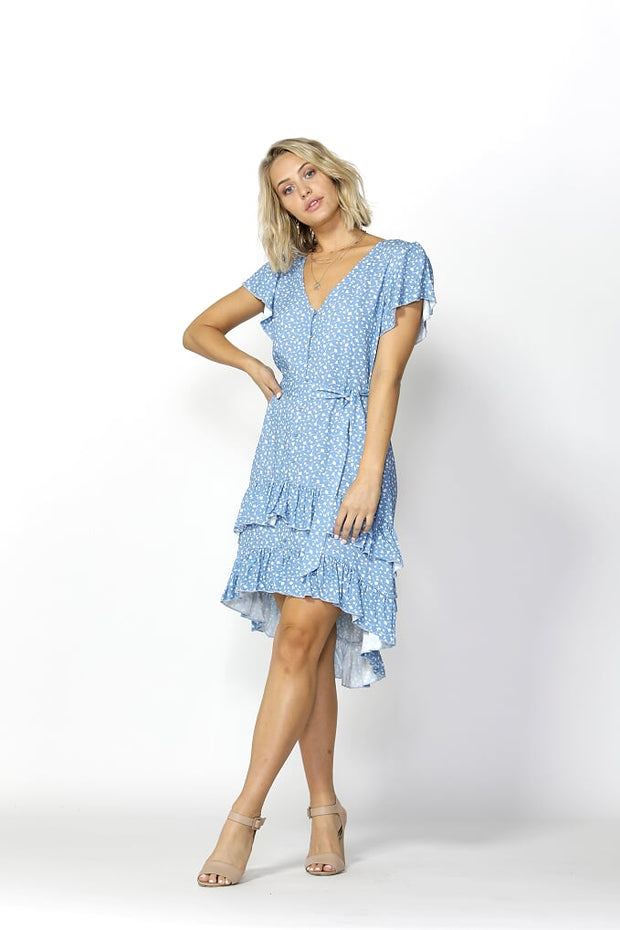 Seven Seas Ruffles Dress Seven Seas Print