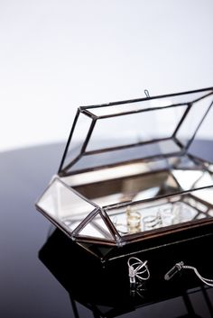 Glass Jewellery Box