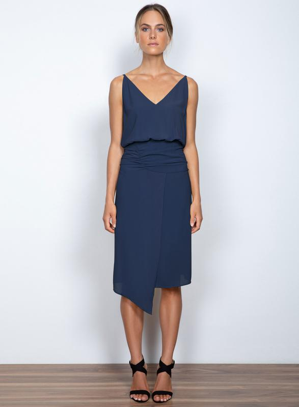 Seasons Midi Dress Midnight