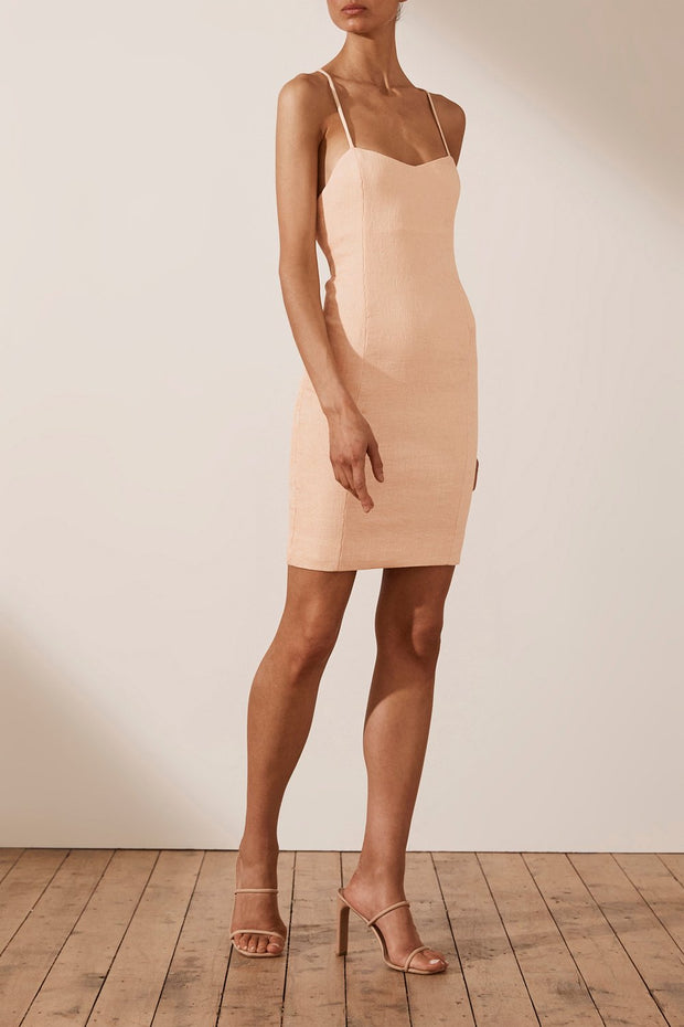 Simone Fitted Mini Dress