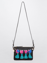 The El Fenn Cross Body Bag Noir Leather