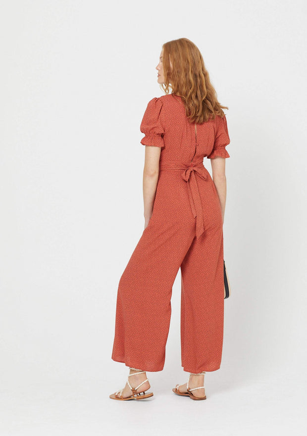 Florence Roma Jumpsuit Terracotta