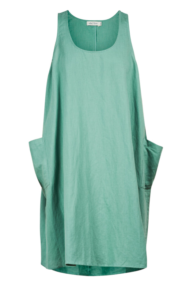 Serengeti Tank Dress Sage