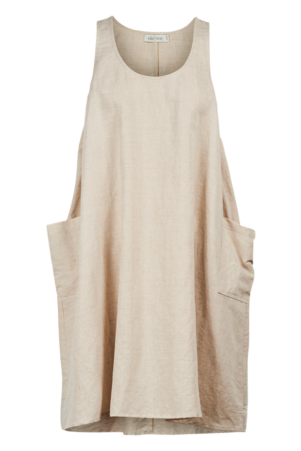Serengeti Tank Dress Sahara