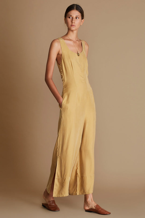 Leondrea Jumpsuit - Honey
