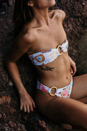 Cala Bandeau Bikini with Ring
