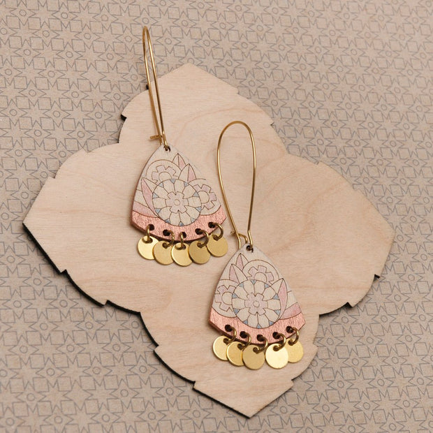 Abril Earrings Copper