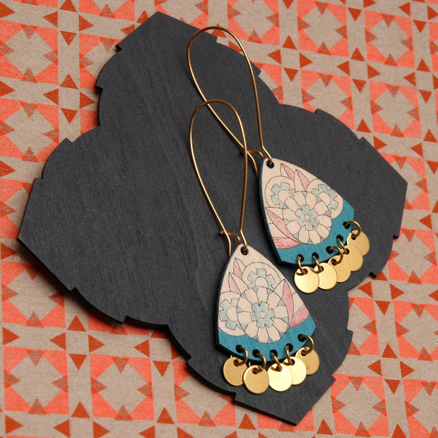 Abril Earrings Turquoise