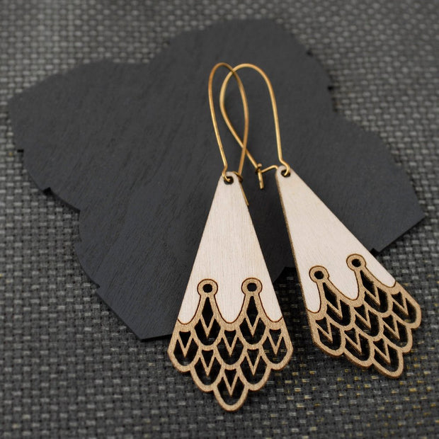 Aqulia Earrings Gold