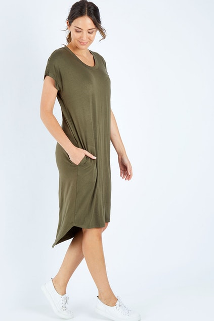 Avalon Dress Khaki