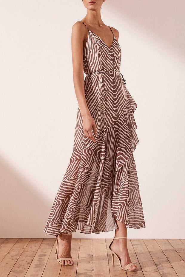 Benita Cocktail Wrap Dress