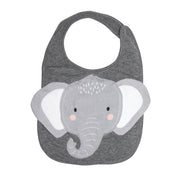Elephant Face Bib
