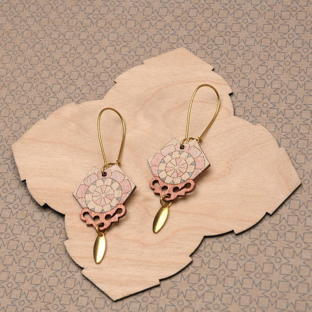 Elvie Earrings Copper