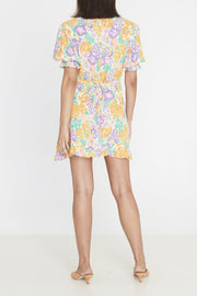 Florence Mini Dress Ade Floral Print