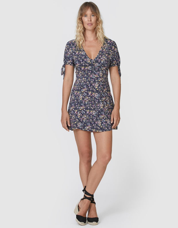 Lola Meadow Mini Dress Navy