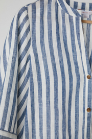 Malta Shirt Blue Stripe