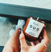 'OUD' babe candle