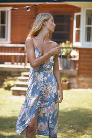 Cottage Rituals Midi Dress Blue
