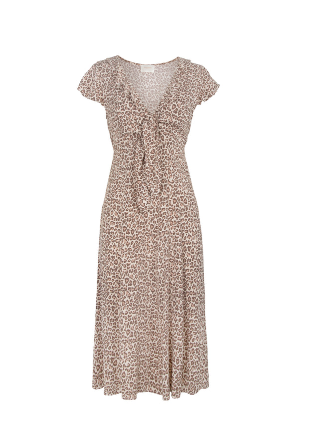 Nomad Rumba Midi Dress Tan