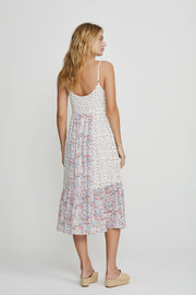 Palm Springs Dawn Midi Dress White
