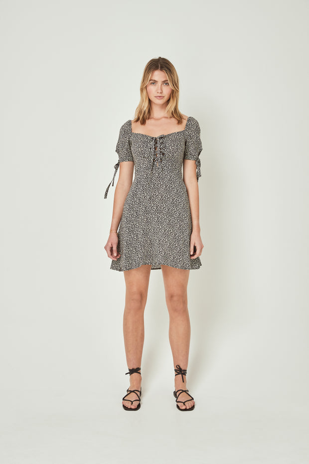 Hazel Brae Mini Dress Black
