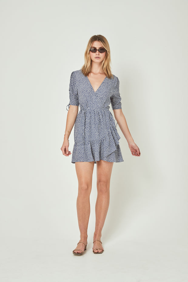 River Della Mini Dress Lavender