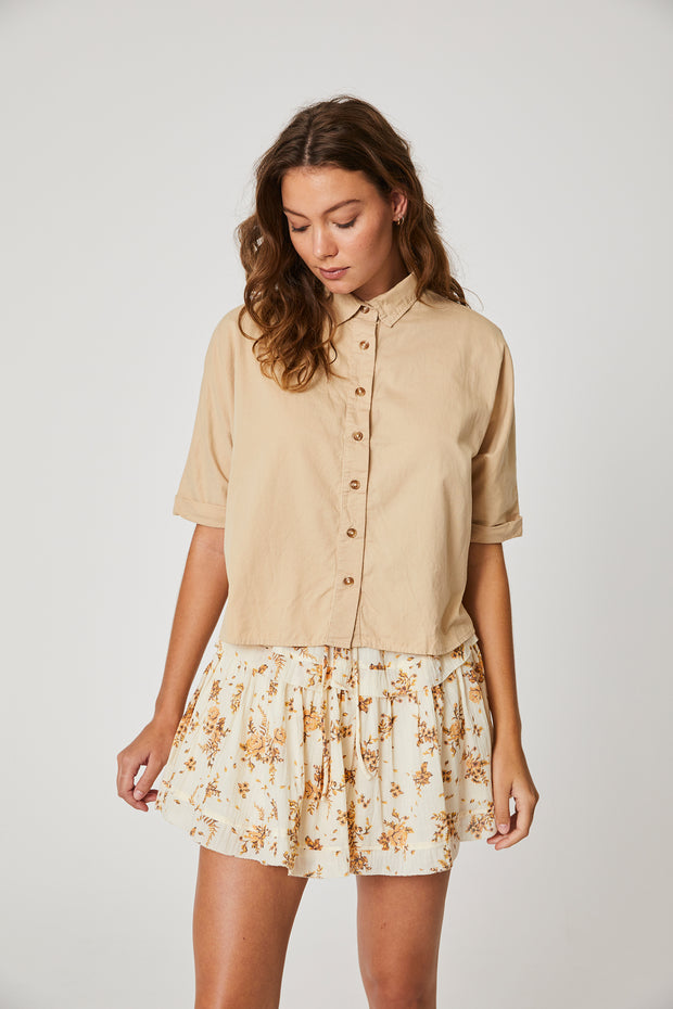 Bailey Shirt Fawn