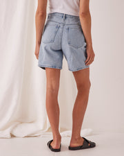 Rowley Denim Short Pacific Blue