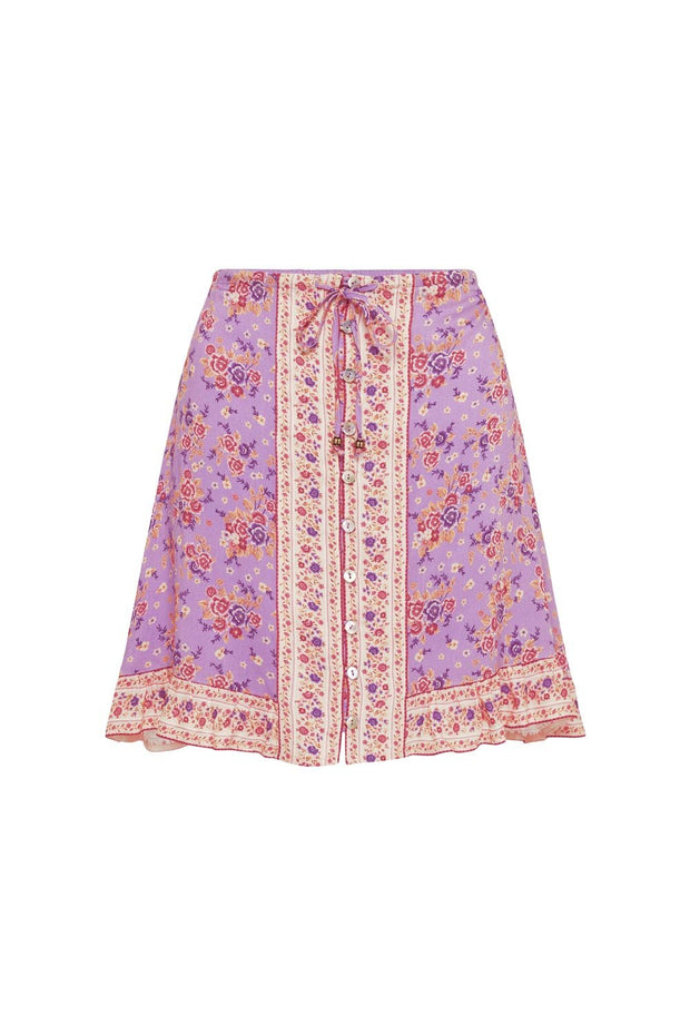 Harmony Mini Skirt Lilac